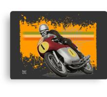 cafe racer - agusta 500/4 Canvas Print