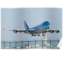 Air Force One Lifts Off from KCLE January 2012 Poster