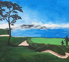 Golf  by Deb Coats