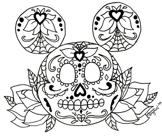 Dead Mickey Mouse Drawing Found on Google