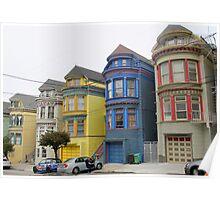 San Francisco Villas Poster