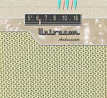 Vintage Transistor Radio - Ambassador by ubiquitoid