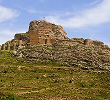 Aliaga Castle, Maestrazgo, Aragon, Spain by Andrew Jones