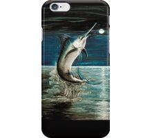 Moonlit Marlin iPhone Case/Skin