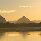 Glass House Mountains by Margaret Hamwood