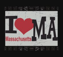 I love Massachusetts by Nhan Ngo