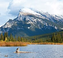 Mt Rundle by Bob and Nancy Kendrick