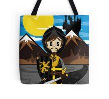 Cute Medieval Crusader Knight  Tote Bag