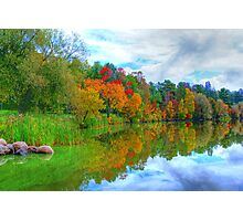 Excellence in Light & Reflection  Photographic Print
