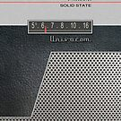 Transistor Radio - 60&#x27;s Perforated by ubiquitoid