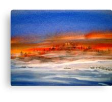 Ablaze... Canvas Print