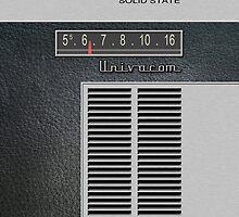 Transistor Radio - 60's Leatherette by ubiquitoid