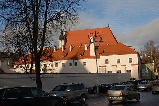 Vilnius today by Antanas