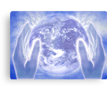 Heal the Earth Canvas Print