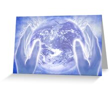 Heal the Earth Greeting Card