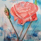 Raindrops on Roses by FrancesArt