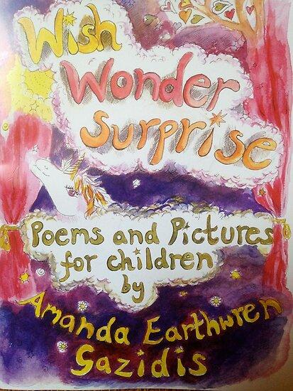 Wish Wonder Surprise book cover by Amanda Gazidis