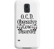 Obsessive Cow Disorder Samsung Galaxy Case/Skin