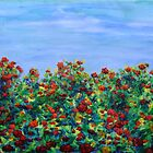 bed of roses by Regina Valluzzi