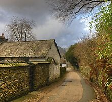 A Village Lane..The Other View by VoluntaryRanger