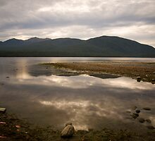 Te Anau - The Deep Lake by Paul Davis