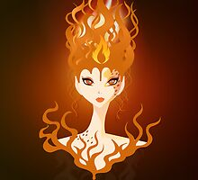 Fire Imp by Amy Grace