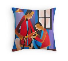 THE LESSON - DEXTER GORDON WITH LLOYD REESE 1936 Throw Pillow