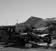 Tornado damage..Nappanee, Indiana 10/18/2007 by jammingene