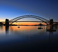 Sydney Opera House and the Harbour Bridge  by Arfan Habib