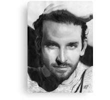 Bradley Cooper portrait Canvas Print