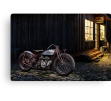 Indian 101 Scout Bobber Canvas Print