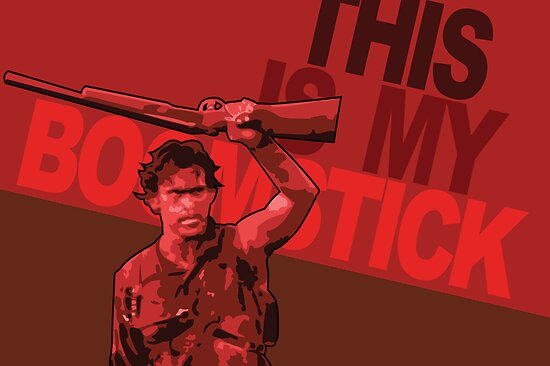 This Is My Boomstick by SJ-Graphics