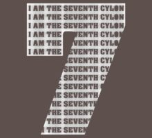 The Seventh Cylon (for Dark Shirts) by villainy