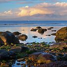 North beach Ardrossan morning by Fe Messenger