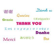 So Many Ways to Say Thanks Photographic Print