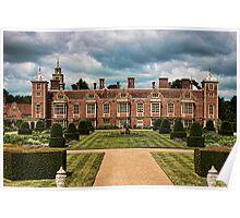 Blickling Hall From The Raised Garden Poster
