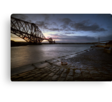 Forth Rail Bridge Sunrise Canvas Print