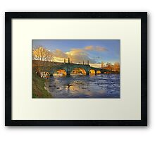 Wade's Bridge at Aberfeldy Framed Print
