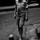 perdio su cabeza por la pelota by Isabela M. Lamuño