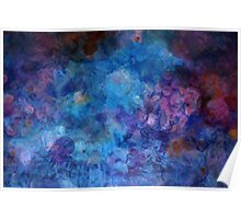 Blue Grotto Painting  Poster