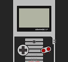 Gameboy Advance SP - Nes Edition ! (for iPhone 4) by Venum Spotah