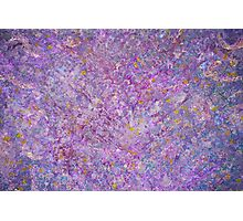 Lavender Haze Abstract Painting Photographic Print
