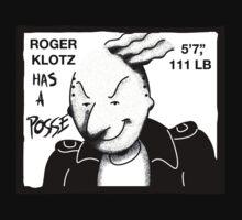 roger klotz has a posse. by Dann Matthews