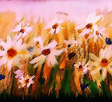 When will spring, spring upon us? watercolor by Anna  Lewis
