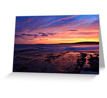 Mother Nature at her best_Nth Narrabeen Greeting Card