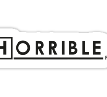 DR. HORRIBLE, PHD. Sticker