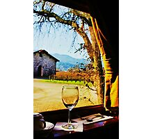 View From the Wine Train Photographic Print