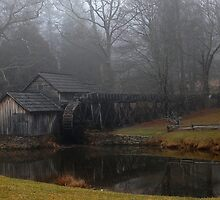 A Walk By the Mill by Sandy Woolard