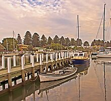 Moyne River Moorings - Port Fairy by TonyCrehan