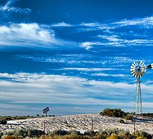 Mungo Morning - Mungo NP, NSW by Malcolm Katon